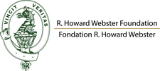 The R. Howard Webster Foundation Logo